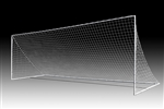 SOCCER GOAL YOUTH 6.5' x 18.5' PORTABLE - Pair