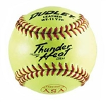 "SOFTBALL 11"" Yellow Leather COR47"