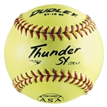 "SOFTBALL 12"" Yellow Synthetic COR47"