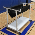 VOLLEYBALL EQUIPMENT CART
