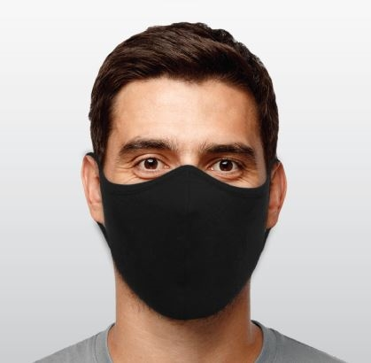ATHLETIC KNIT FACE MASK - ADULT