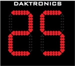 SHOT CLOCKS DAKTRONICS BB-2114 / PAIR