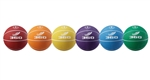 BASKETBALL COLORED RUBBER SET(6) SIZE 6
