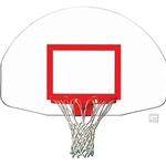 "BACKBOARD STEEL 54"" X 35"" - FRONT MOUNT"