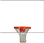 "BACKBOARD STEEL 60"" X 42"" - FRONT MOUNT"