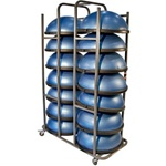 BOSU BALL STORAGE CART - Special order
