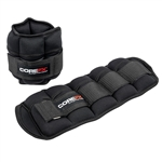 ANKLE /WRIST WEIGHTS ADJUSTABLE 1-5 LB COREFX