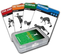 FITDECK JUNIOR EXERCISE PLAYING CARDS - 56 CARDS - Discontinued