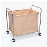 STORAGE CART WITH CANVAS BAG