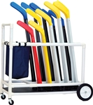 FLOOR HOCKEY EQUIPMENT CART