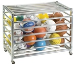 STORAGE CART DELUXE LOCKABLE