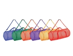 "BAGS MESH DUFFLE 15""X36"" COLORED SET (6)"