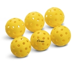 PICKLE-BALL BALL OUTDOOR SET OF 6