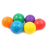 "GRIPPY PLAYBALL 3.5"" SET OF 6"