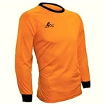 SOCCER GK JERSEY ADULT ELETTO PLAIN-ORANGE OR YELLOW