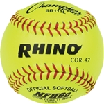 "SOFTBALL 11"" Leather COR47 Yellow"