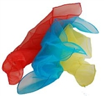 "JUGGLING SCARVES 16"" SET OF 3"